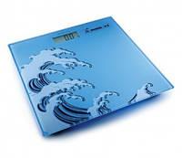 Весы электронные на стеклянной платформе Momert (Волна) Модель 5848