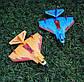 Літак на радіоуправлінні X-Mini 320 синій | радіокерований літак зі світлодіодним підсвічуванням пінопласт, фото 10