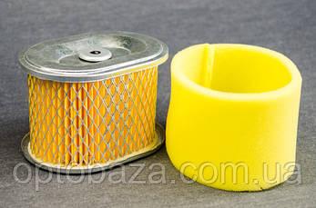 Фильтрующий элемент воздушного фильтра ( тип 3 ) для мотоблока бензинового 6 л.с., фото 2