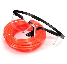 Захисні окуляри з волосінню 2.4 мм довжина 15 м