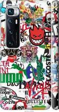 "Чехол на Xiaomi Mi 10 Ultra Many different logos ""4022c-2064-2448"""