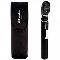 Офтальмоскоп e-scope®, прямое освещение, вакуум 2,7 В, черный, в сумочке