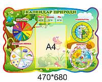 Календар природи для класу нуш