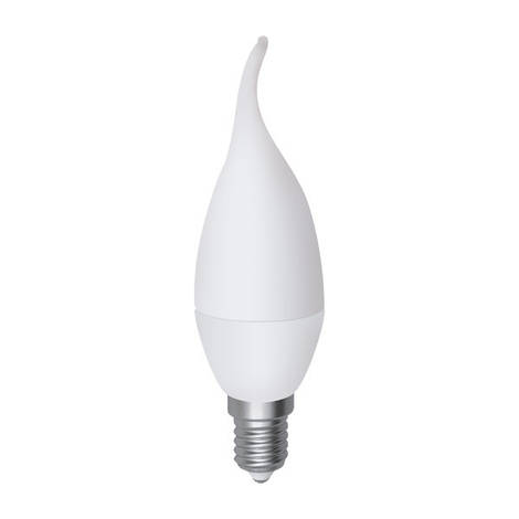 LED лампа Electrum E14 свеча на ветру 4W(320 lm) 2700K PA LC-10 алюпласт. корп. A-LC-0682