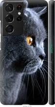 "Чехол на Galaxy S21 Ultra Красивый кот ""3038c-2116-2448"""
