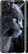 "Чехол на Galaxy S21 Plus Красивый кот ""3038c-2115-2448"""
