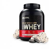 Протеин оптимум нутришн вей голд сывороточный Optimum Nutrition WheyGold протеин печенье со сливками 837 грамм
