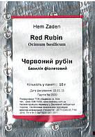 Семена базилика фиолетового Красный рубин 10 г