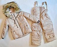 Детский зимний комбинезон для мальчика 104 и 110 размер