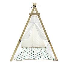 Lb Вигвам Littledove TT-TO1 Елочки детская игровая палатка домик в квартире на улице