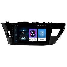 Lb Заводська автомобільна 10 магнітола в машину Toyota Corolla (2014-2017 р. в.) сенсор пам'ять 1/16 GPS Wi Fi