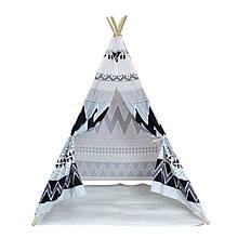 Lb Детский игровой вигвам Littledove AJZ-081 Узоры удачи домик палатка для детей в квартире на улице