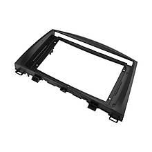 """Lb Перехідна рамка в машину під магнітолу 9"""" Black для автомобіля Mazda 3 2010-2013 MA 034N"""