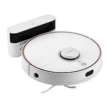 Lb Розумний робот-пилосос 360 Robot Vacuum Cleaner S7 White з вологим і сухим прибиранням