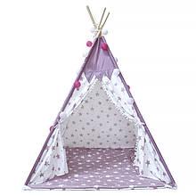 Lb Вигвам Littledove RT-14 Pink Stars детская игровая палатка домик в квартире на улице