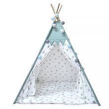 Lb Вигвам Littledove RT-14 Mint Stars детская игровая палатка домик в квартире на улице