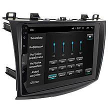 """Lb Заводська автомобільна магнітола в машину 9"""" Mazda 3 (2009-2013 р.) пам'ять 2/32 навігація GPS Wi FI"""