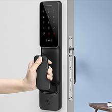 Lb Розумний дверний замок Xiaomi Mijia Smart Door Lock Push-Pull для розумного смарт будинку бездротовий