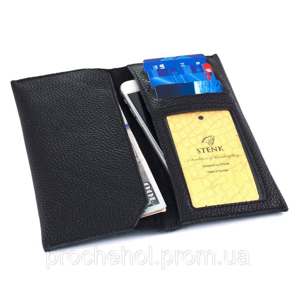 Чехол-портмоне Stenk WalletBook Флотар Черный (28280)