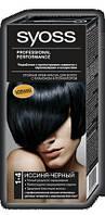 Палитра цветов краски для волос Syoss 1-4  Иссиня черный