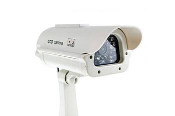 Муляж уличной камеры видеонаблюдения с солнечной батареей