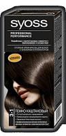 Палитра цветов краски для волос Syoss 3-1 Темно-каштановый