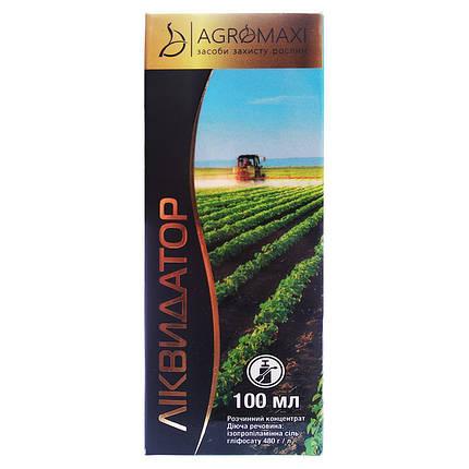 """Гербицид """"Ликвидатор"""" для люцерны, плодовых, картофеля, люцерны, зерновых и т.д. (100 мл) от Agromaxi, фото 2"""