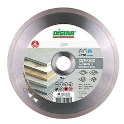 Круг алмазный отрезной Distar 1A1R 200x1,8x8,5x25,4 Bestseller Ceramic granite 11320138015 ES, КОД: 2367207