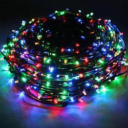 Гирлянда светодиодная внутренняя Leds Линейная 24м 300 LED Черный 100251GR-1 ES, КОД: 2449214