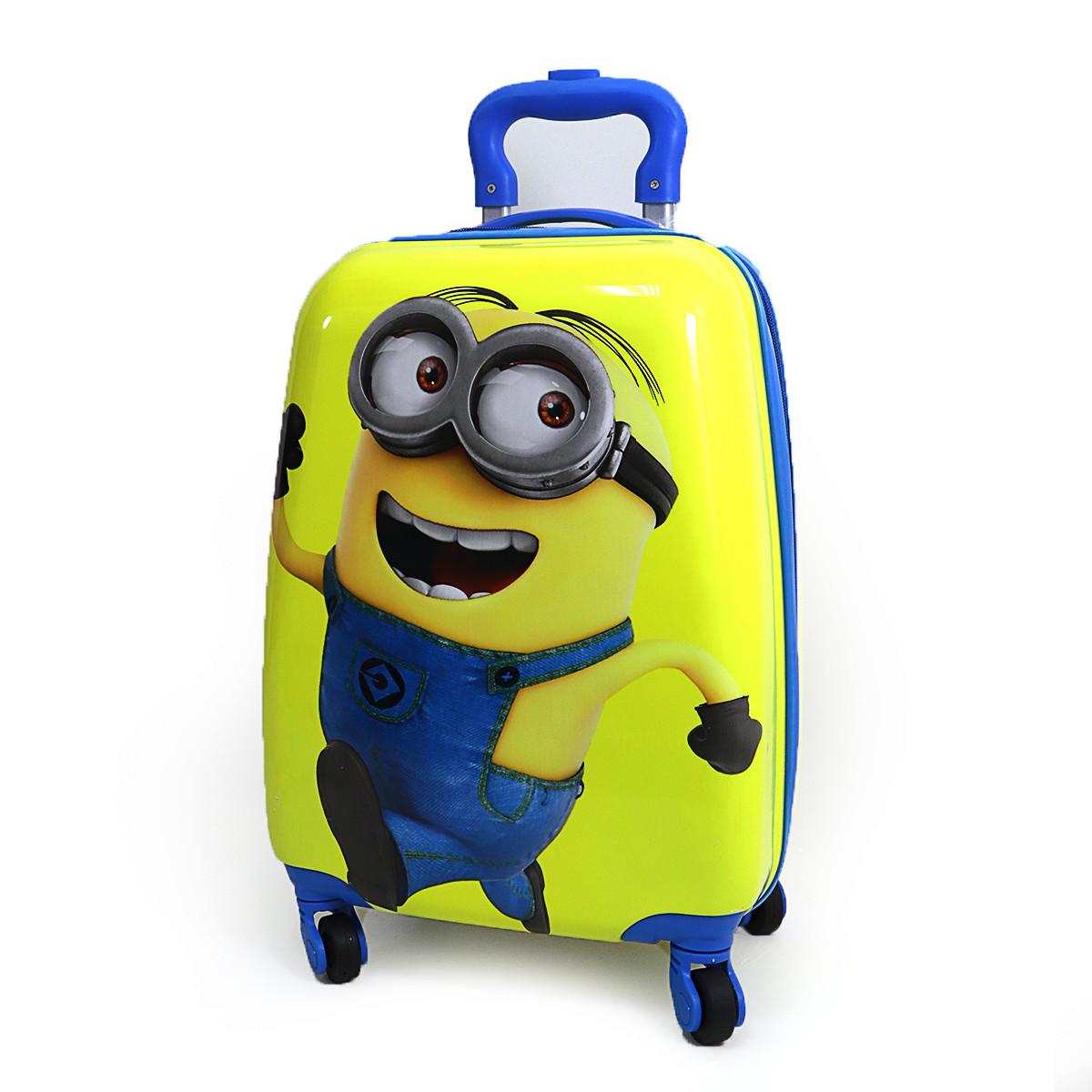 """Детский пластиковый чемодан  """"Миньон"""""""