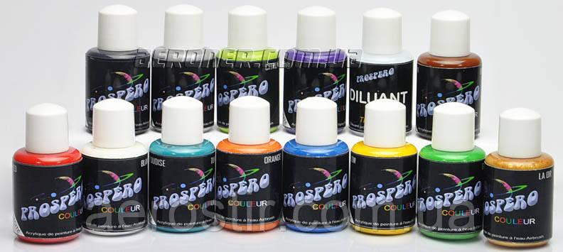 Краска для аэрографии Prospero acrylic base 14-30