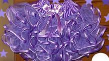 Пишна спідниця з фатину з воланами, фото 3