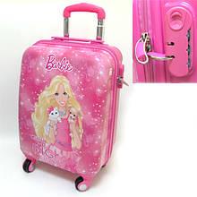 """Детский пластиковый чемодан  """"Барби"""""""