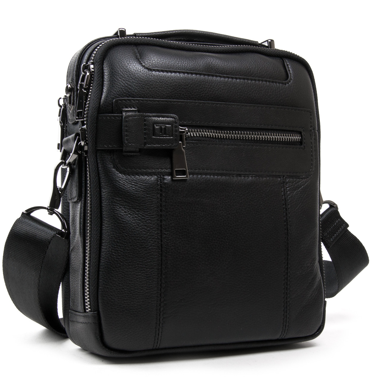 Стильна чоловіча сумка планшет натуральна шкіра BRETTON