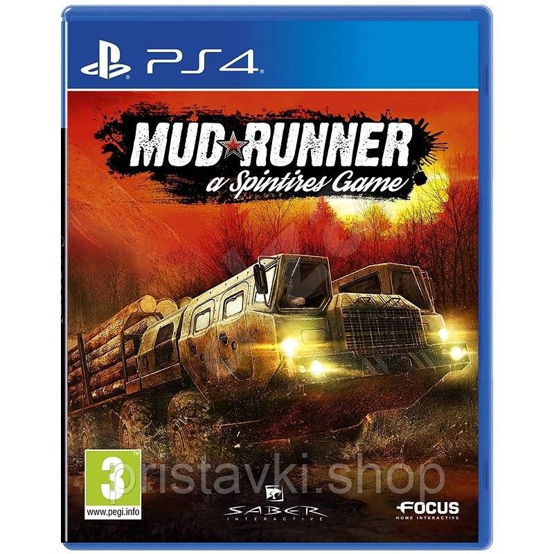 Spintires: MudRunner PS4 \ PS5