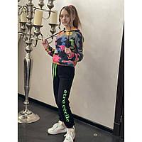 Трикотажный спортивный костюм на девочку р. 128-164