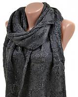 Восхитительный теплый шарф женский 180х50 шерсть M0430 grey