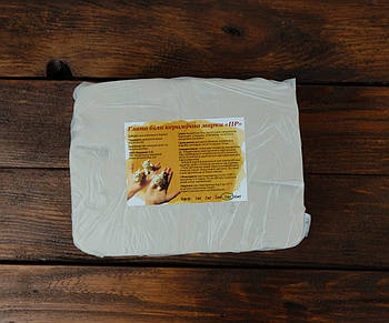 Натуральна біла глина ПР для творчості, ліплення, кераміки 5 кг