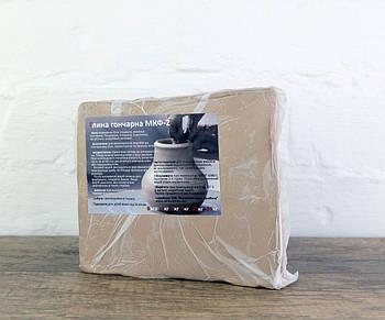 МКФ-2 - натуральна гончарна глина 1 кг