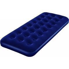 Надувний матрац Bestway 67000 односпальний Синій (gr_003623)
