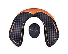 Масажер міостимулятор Hip Trainer для сідниць Чорний з оранжевим