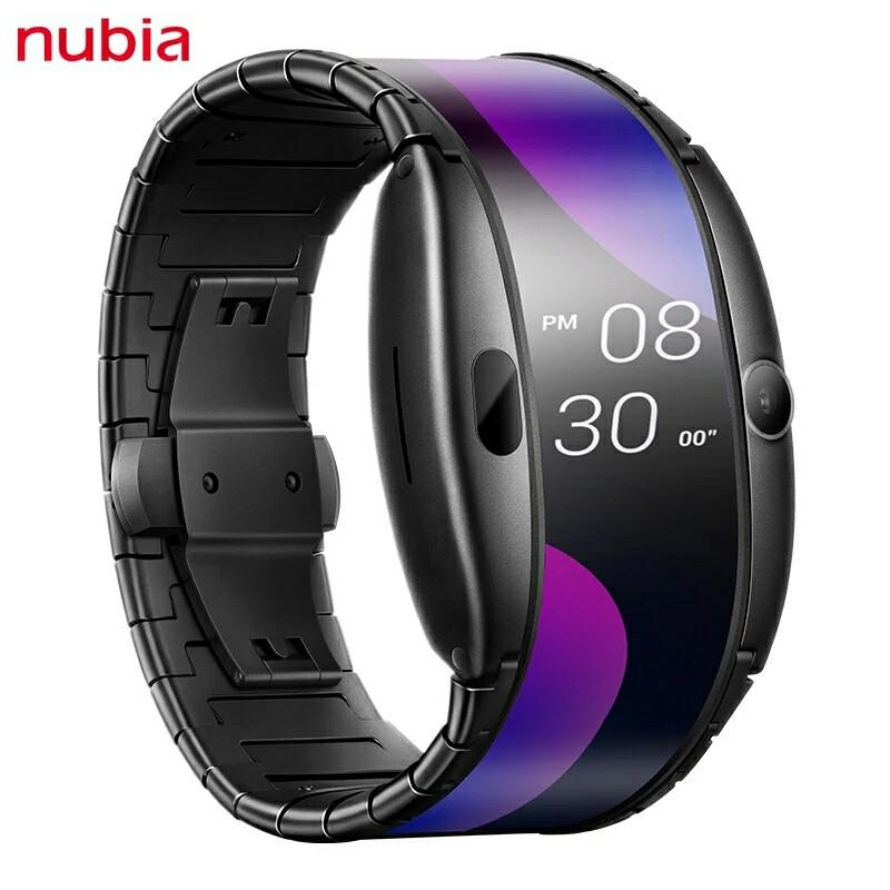 """Nubia Альфа Смарт годинник телефон 4,01 """"AMOLED Екран"""