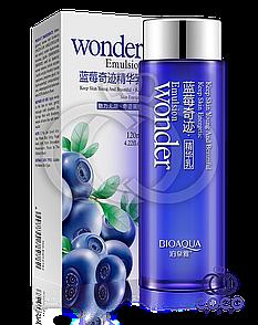 Емульсія для обличчя Bioaqua Wonder Emulsion з чорницею 120 мл
