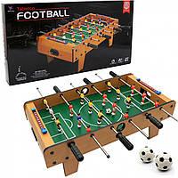 Настільна гра «Футбол», дерев'яний, на штангах, від 6 років, 69*36*23 см (2333)