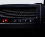 Электрокамин с порталом ALIOTH AF-28 белый бьянко, каминокомплект с обогревом, с диагональю 71 см, фото 2
