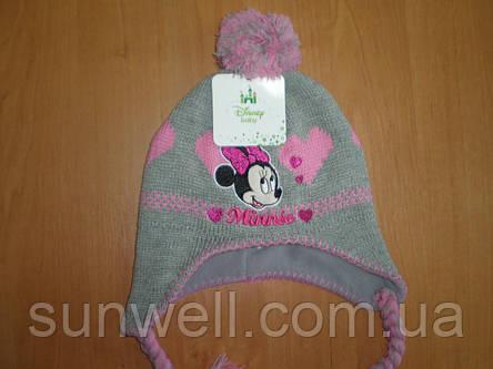 Детская зимняя шапка ТМ Sun City р.48, фото 2