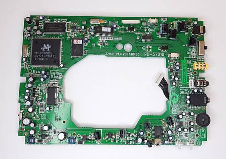 Основная плата для портативного DVD плеер Elenberg LD-720 (PD-57010) Original б.у, фото 2