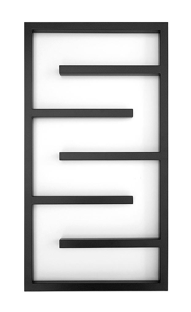 Электрический полотенцесушитель Genesis-Aqua Infinite 80x53 см