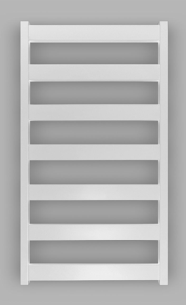 Электрический полотенцесушитель Genesis-Aqua Bull 100x53 см, белый