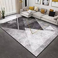 Безворсовий килим Комільфо мікрофібра 140х200 SC3467